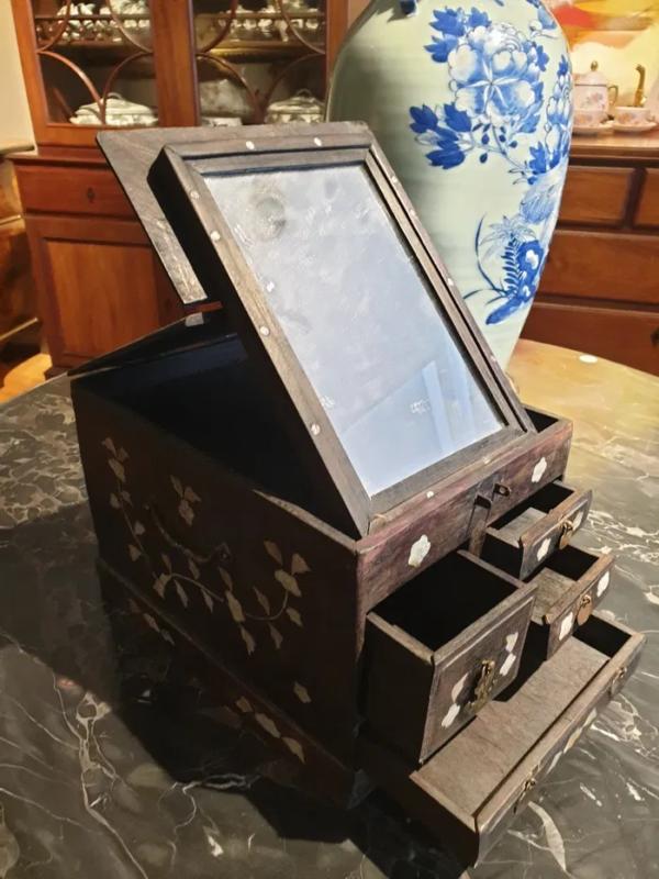 Caixa toucador chinês