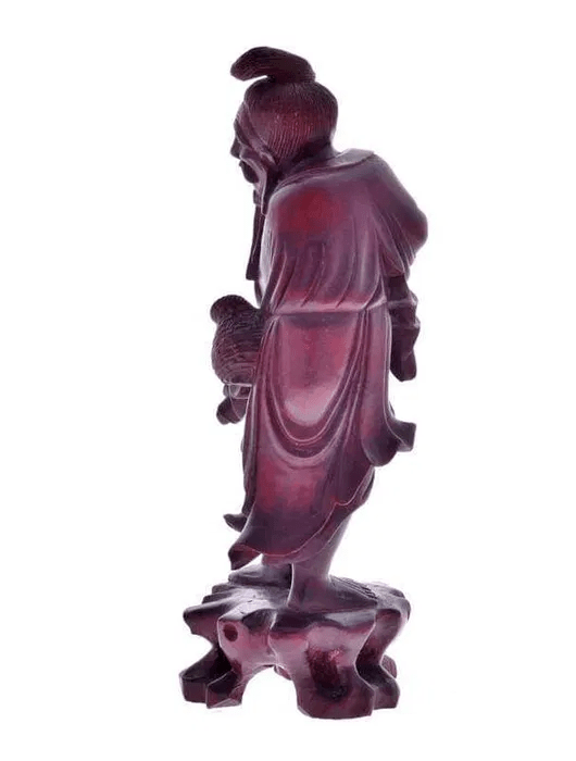 Escultura chinesa em Tamarindo