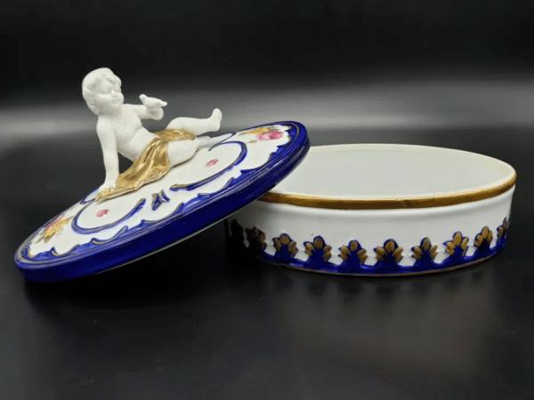 Guarda jóias Capodimonte
